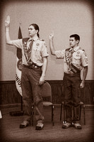 John and Gregg - Eagle Scout Court of Honor
